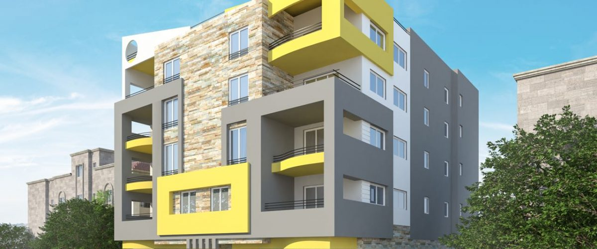 Redesign and Development of Residential Building Elevations at Al-louts