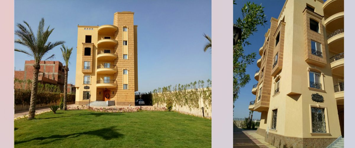 Family housing in the area of Buhormos Giza